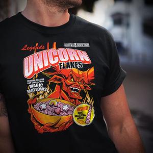teeVillain: Unicorn Flakes