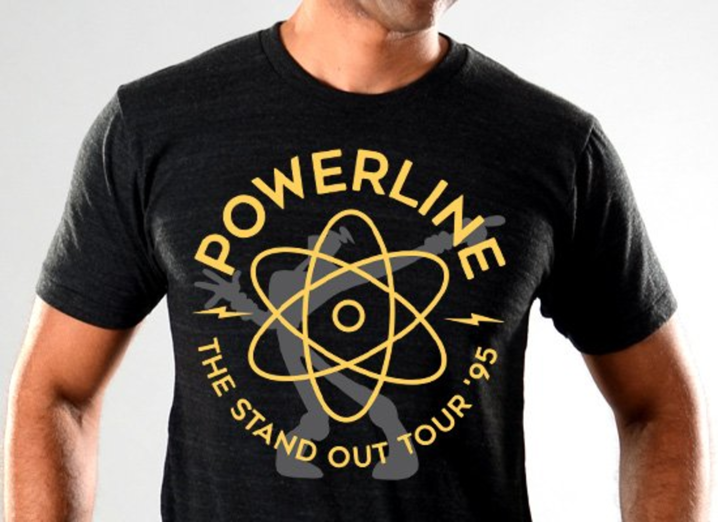 SnorgTees: Powerline Limited Edition Tri-Blend