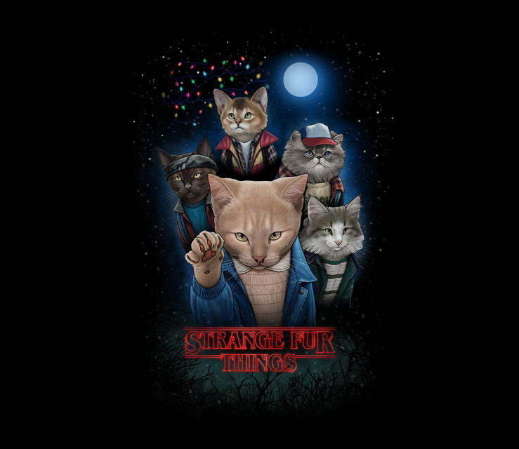 TeeFury: Strange Fur Things