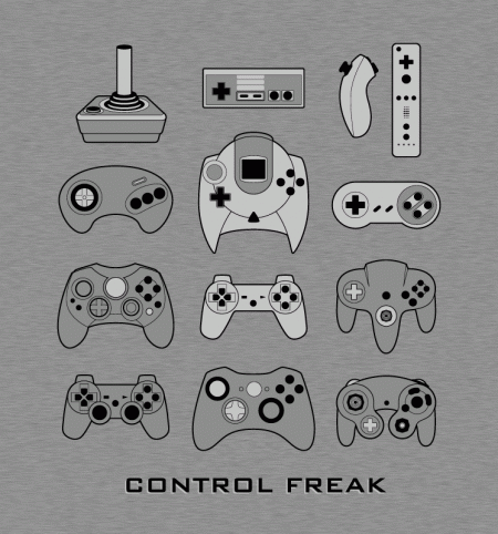 BustedTees: Control Freak