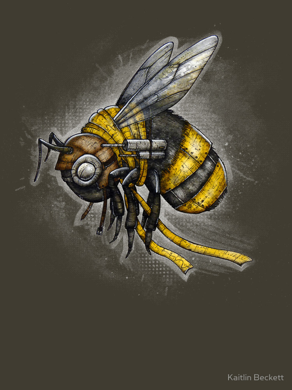 RedBubble: Bumblebee Shirt (Dark Background)
