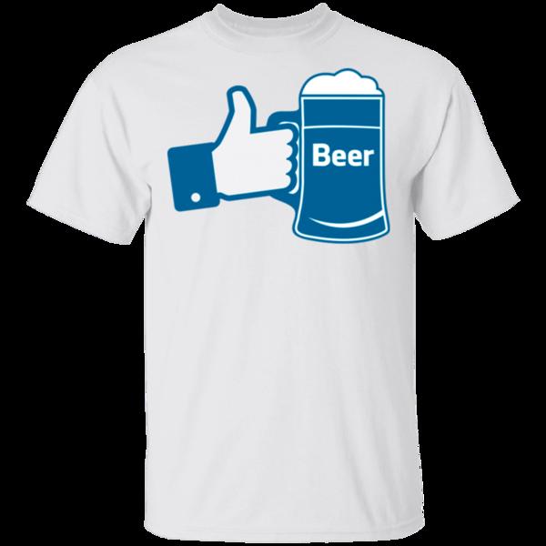 Pop-Up Tee: Like Beer