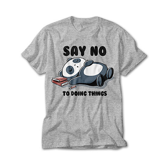 OtherTees: Say no to doing things