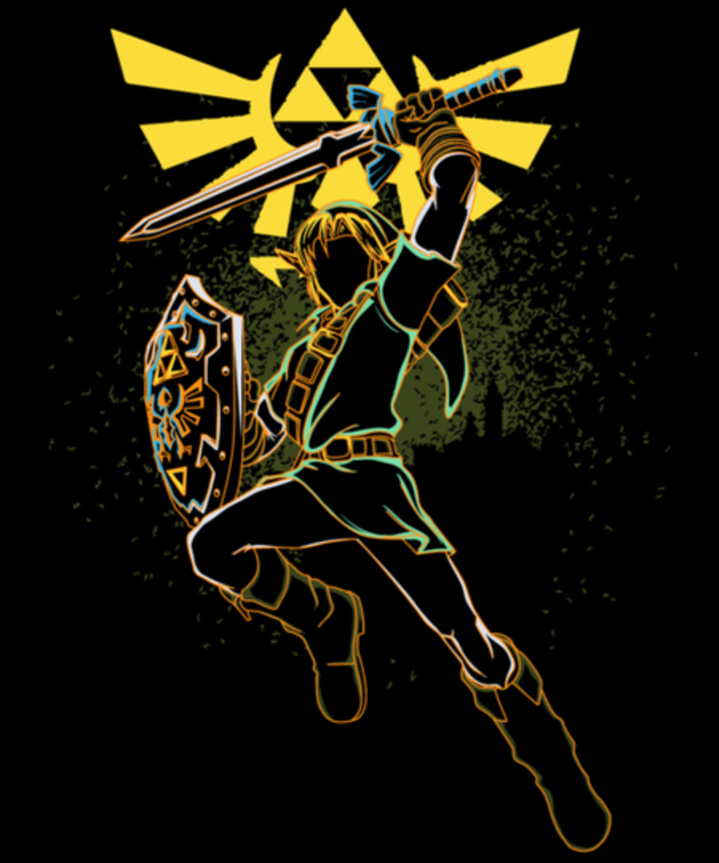 Qwertee: Shadow of courage