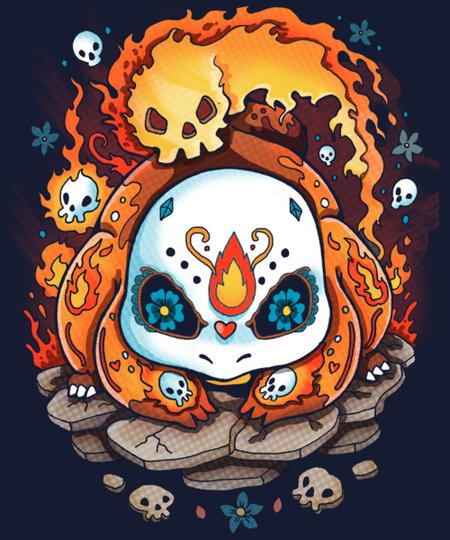 Qwertee: Fire Sweet for Halloween