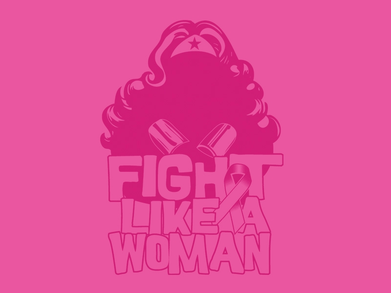TeeMinus24: Fight Like a Woman