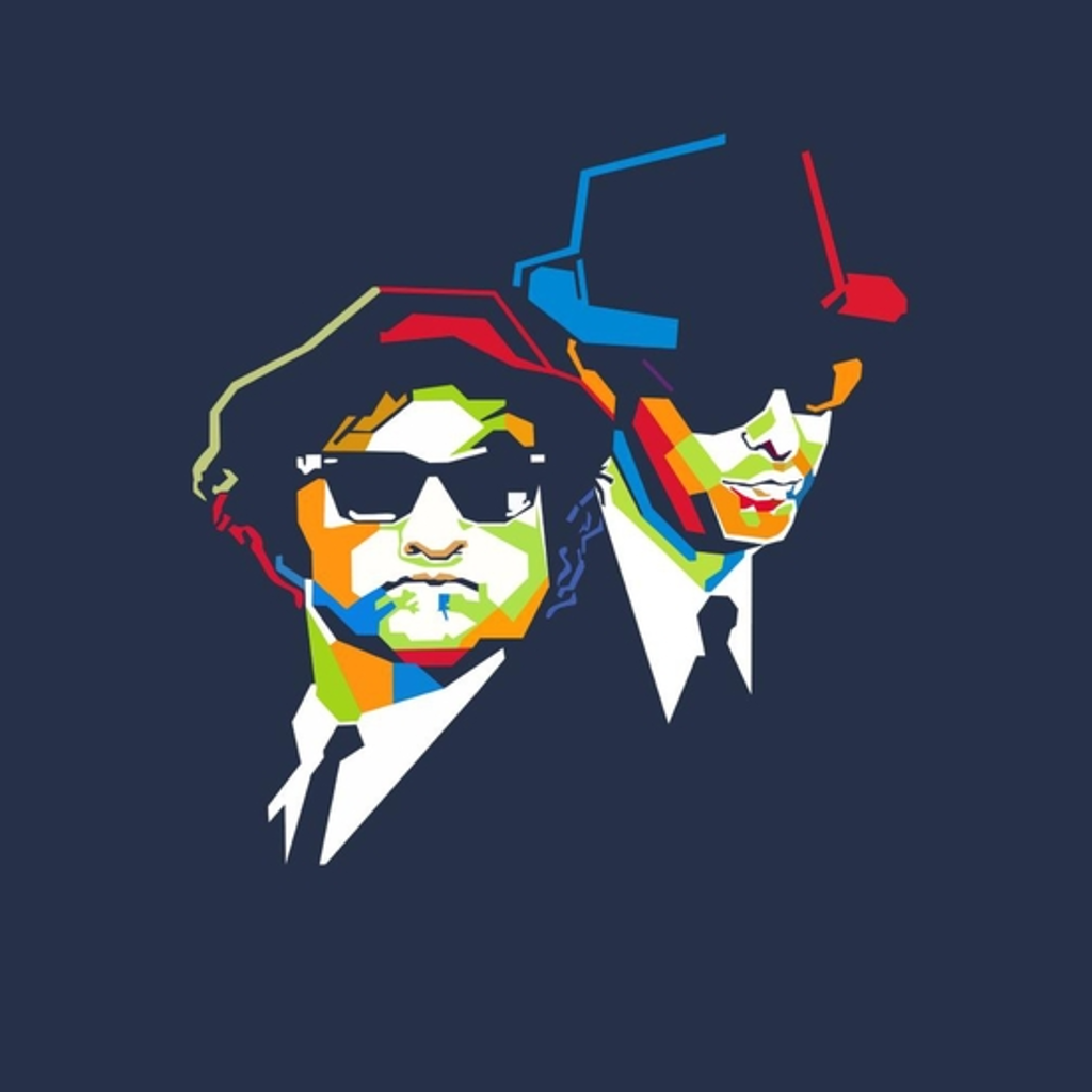 BustedTees: Blues Brothers Cubism