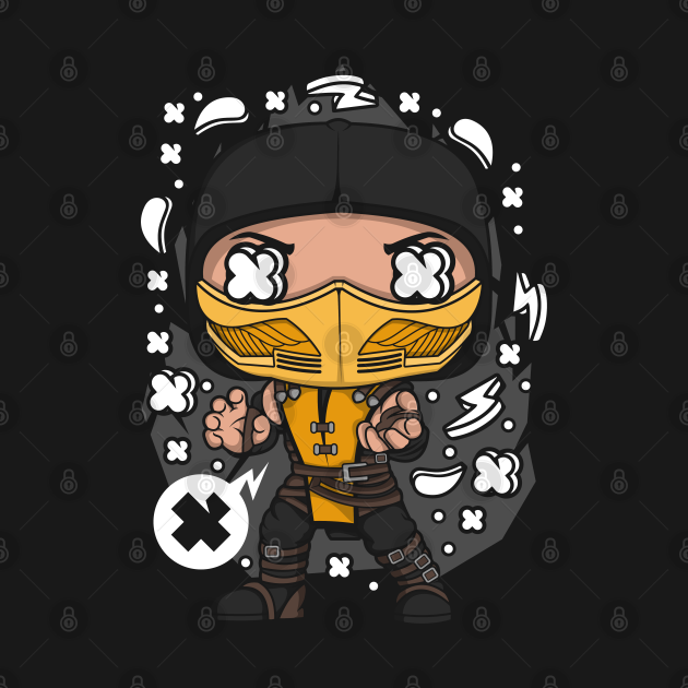 TeePublic: Scorpion Pop Art