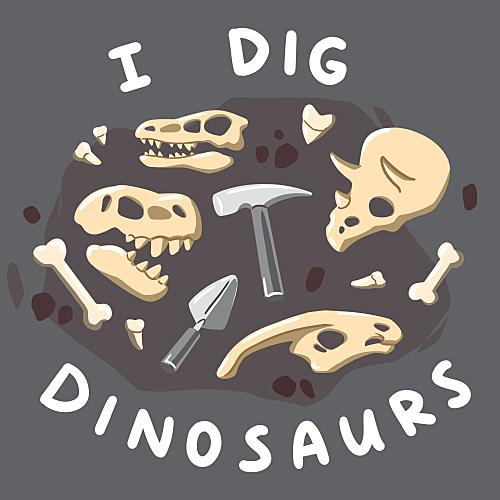 TeeTurtle: I Dig Dinosaurs