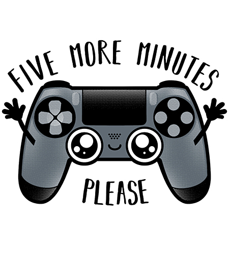 Qwertee: 5 more minutes