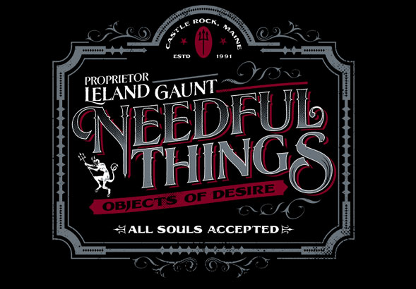 teeVillain: NEEDFUL THINGS