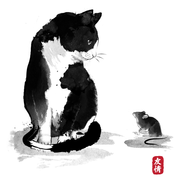 NeatoShop: The cat and the little mouse