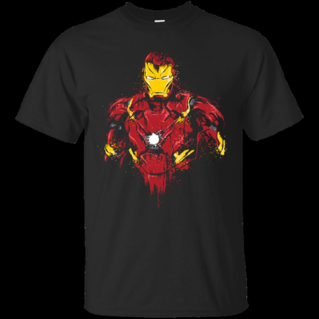 Pop-Up Tee: Iron Warrior