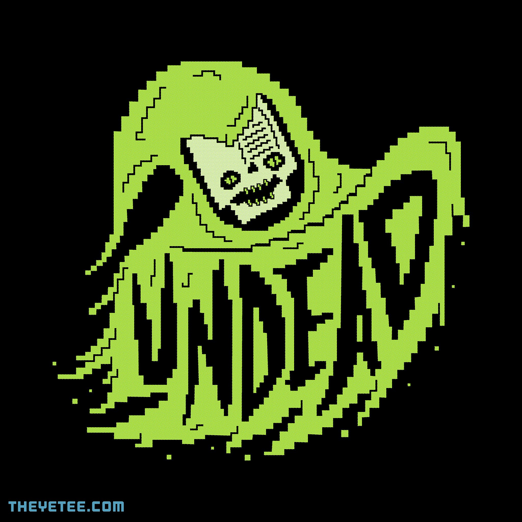 The Yetee: THE UNDEAD GAMER