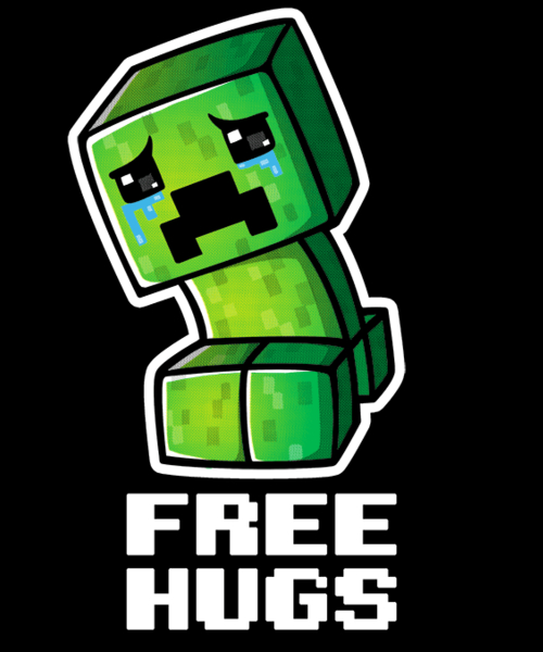 Qwertee: Sad creeper