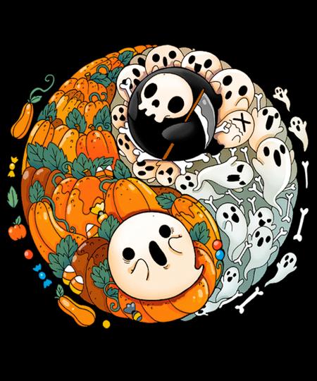 Qwertee: Balanced Halloween