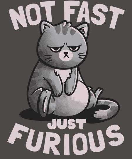 Qwertee: Not Fast Just Furious