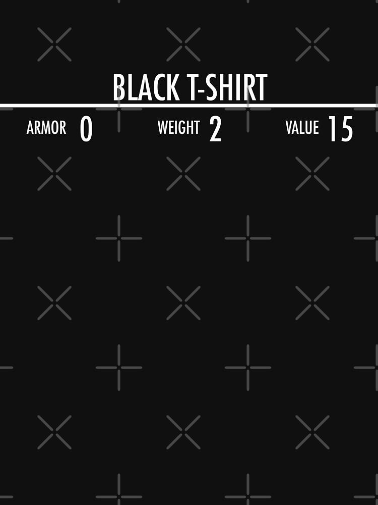 RedBubble: Black t-shirt
