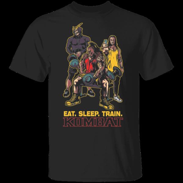 Pop-Up Tee: Eat Sleep Train Kombat