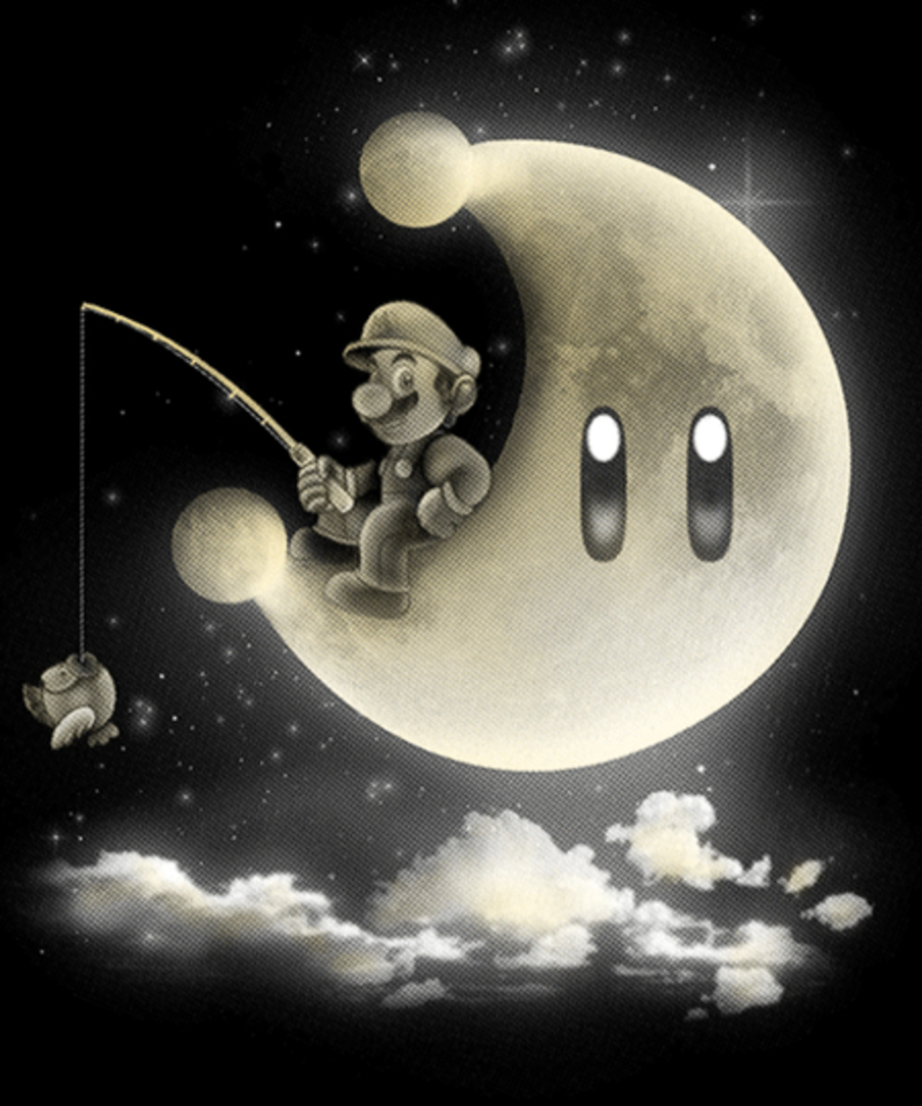 Qwertee: It's a dream, Mario