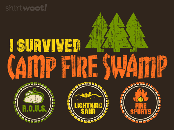 Woot!: Camp Fire Swamp