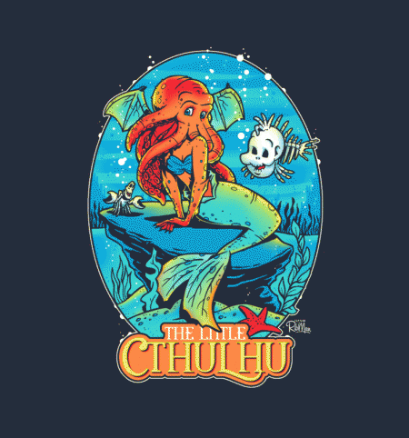 BustedTees: The Little Cthulhu