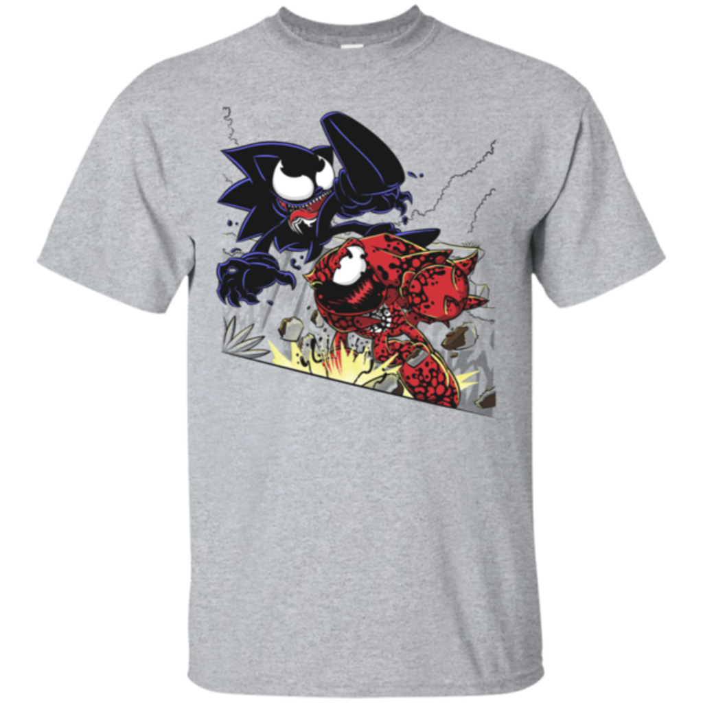 Pop-Up Tee: Echidna Vs Hedgehog