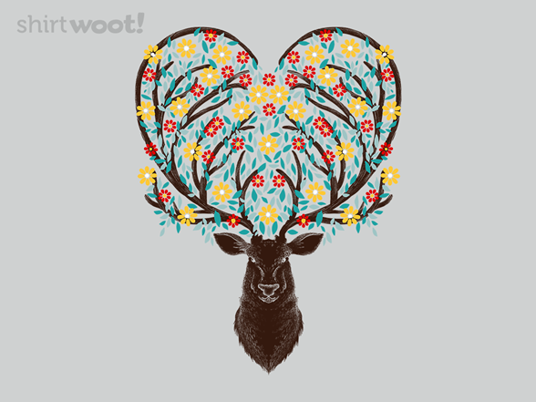 Woot!: Blooming Deer - $8.00 + $5 standard shipping