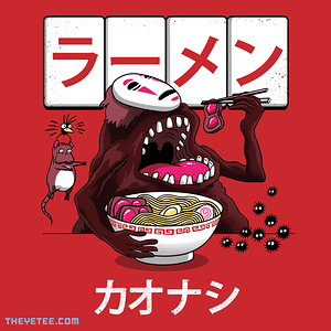 The Yetee: Ramen Kaonashi