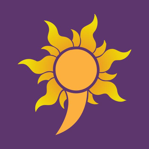 TeePublic: Semicolon Sunburst