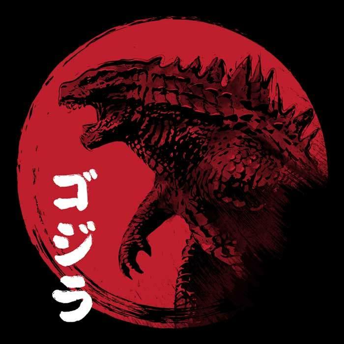 Once Upon a Tee: Red Sun Kaiju