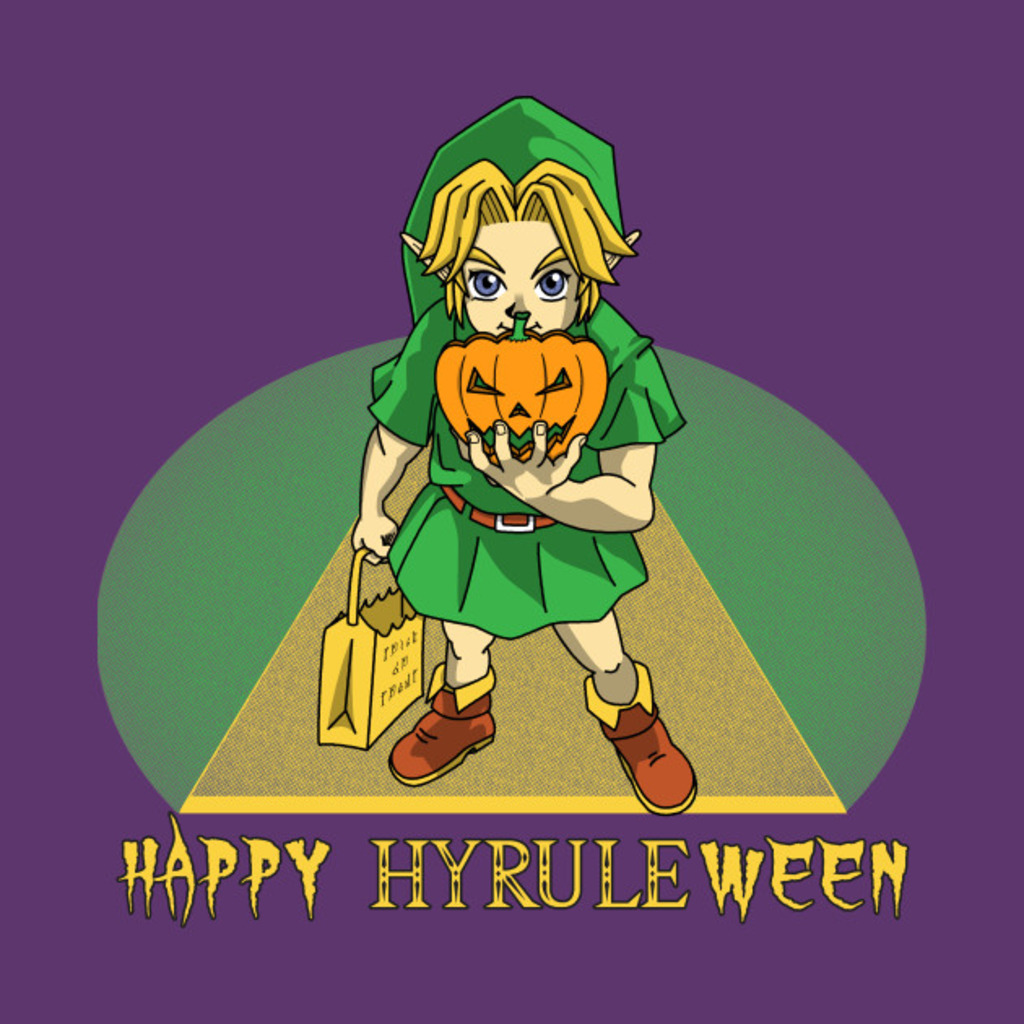 TeePublic: Happy Hyrule-ween! T-Shirt