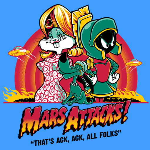 TeeFizz: Mars Attacks!