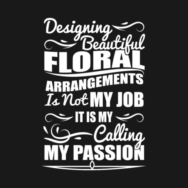 TeePublic: Designing beautiful floral job