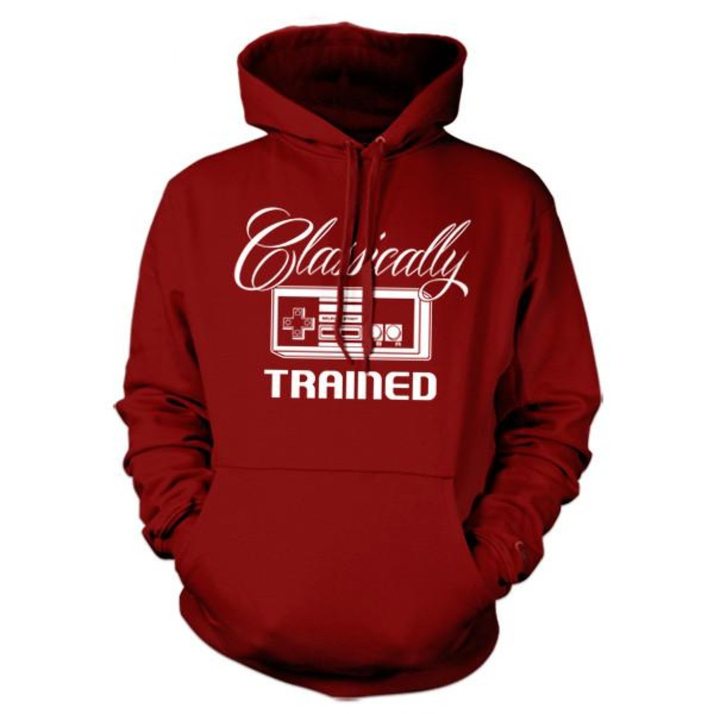 Five Finger Tees: Classically Trained Hoodie