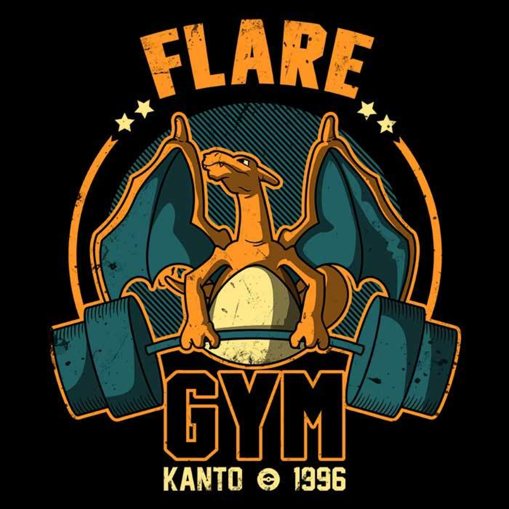Once Upon a Tee: Flare Gym