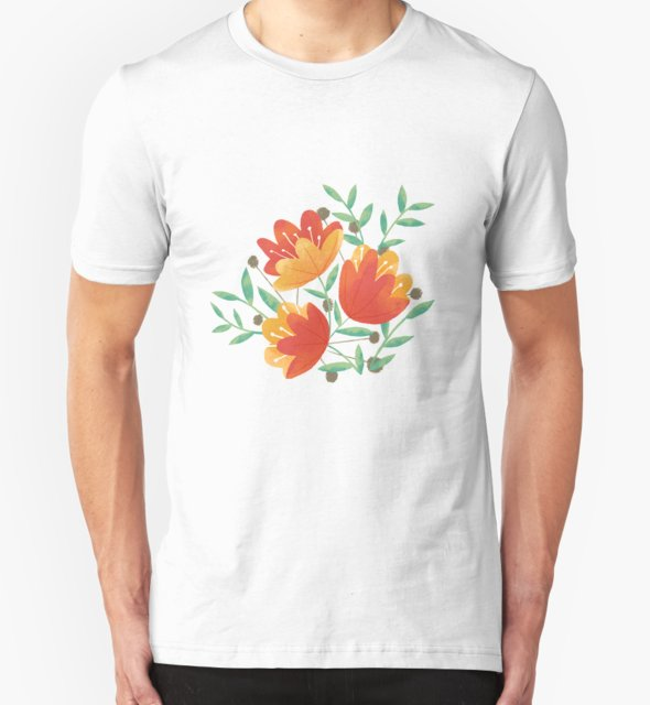 RedBubble: Light Afternoon Blossoms