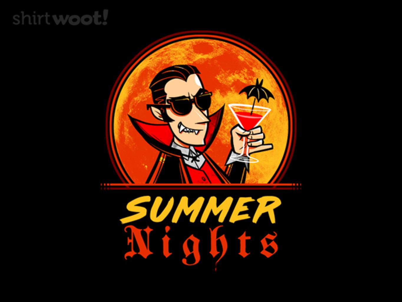 Woot!: Vampire Summer - $15.00 + Free shipping