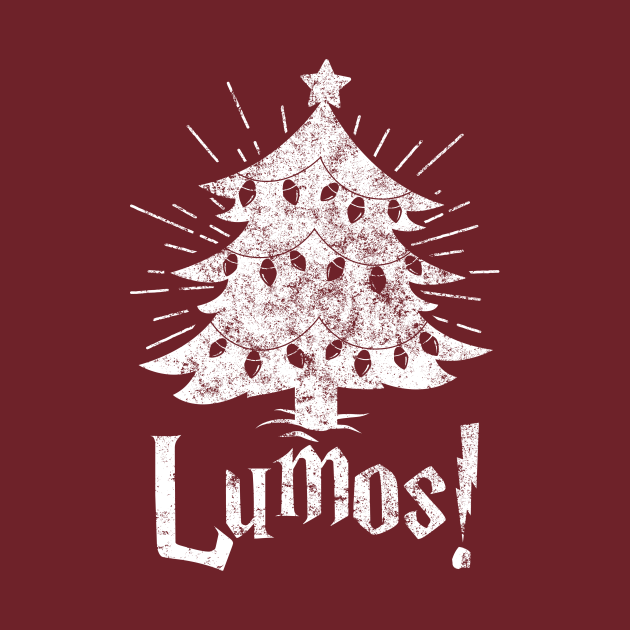 TeePublic: Christmas - LUMOS! (Harry Potter Inspired)