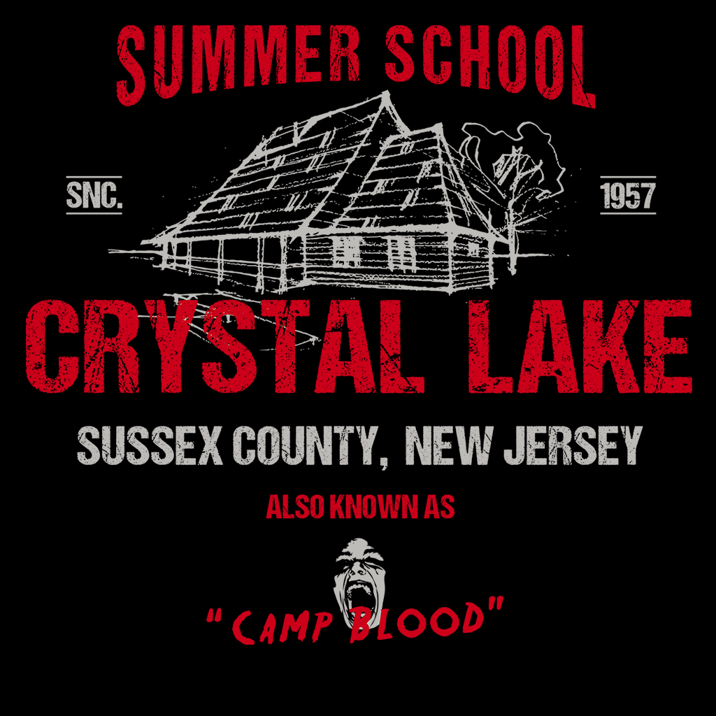Pop-Up Tee: Crystal Lake Summer School