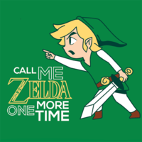 Textual Tees: Call Me Zelda One More Time