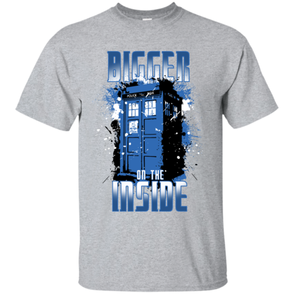 Pop-Up Tee: Bigger on the Inside