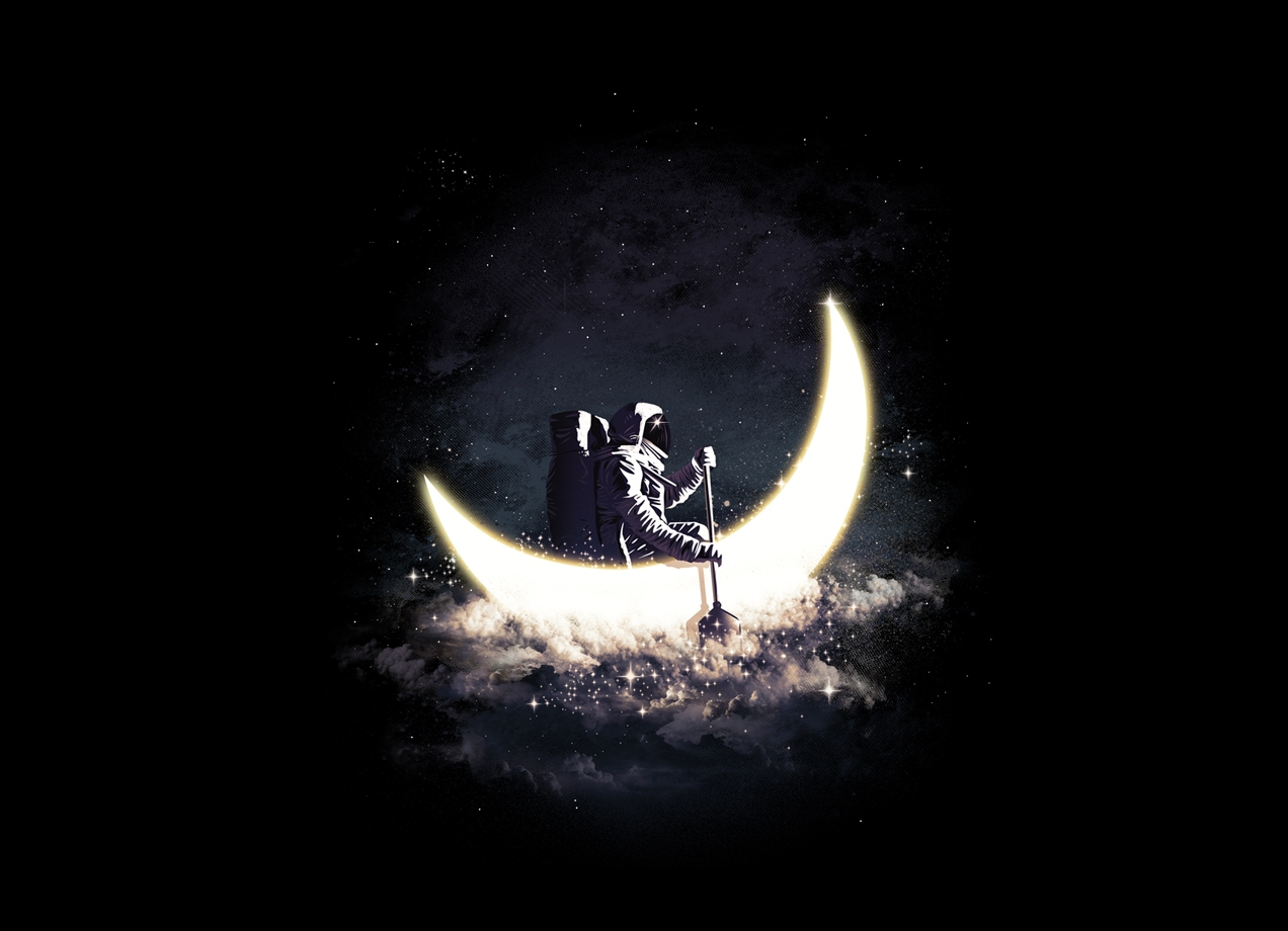 Threadless: Moon Sailing