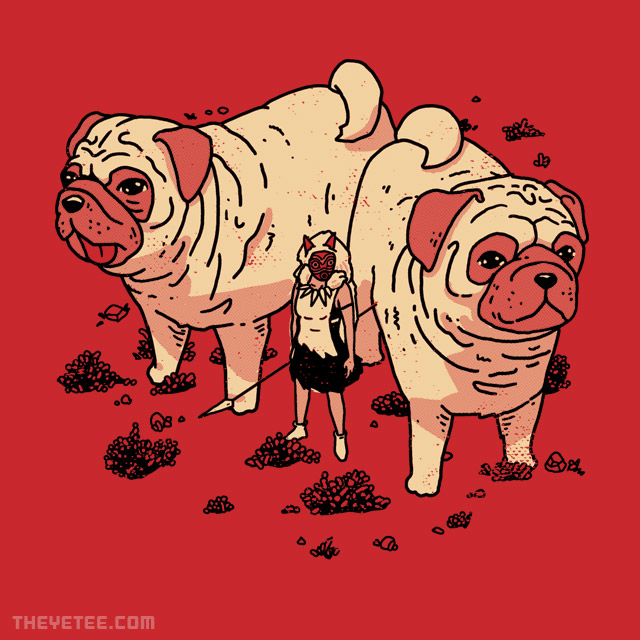The Yetee: The Pug Girl