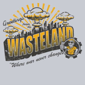 Pop-Up Tee: Greetings from the Wasteland