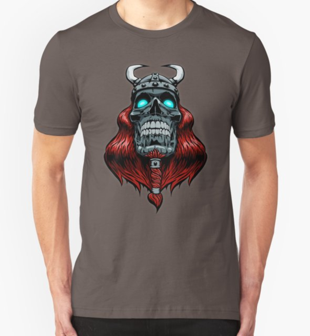 RedBubble: Valhalla Awaits