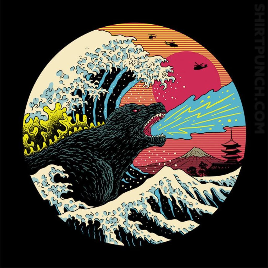 ShirtPunch: Retro Wave Kaiju