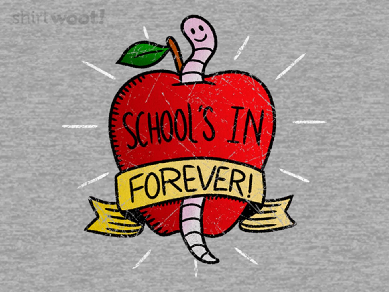 Woot!: SCHOOL'S IN
