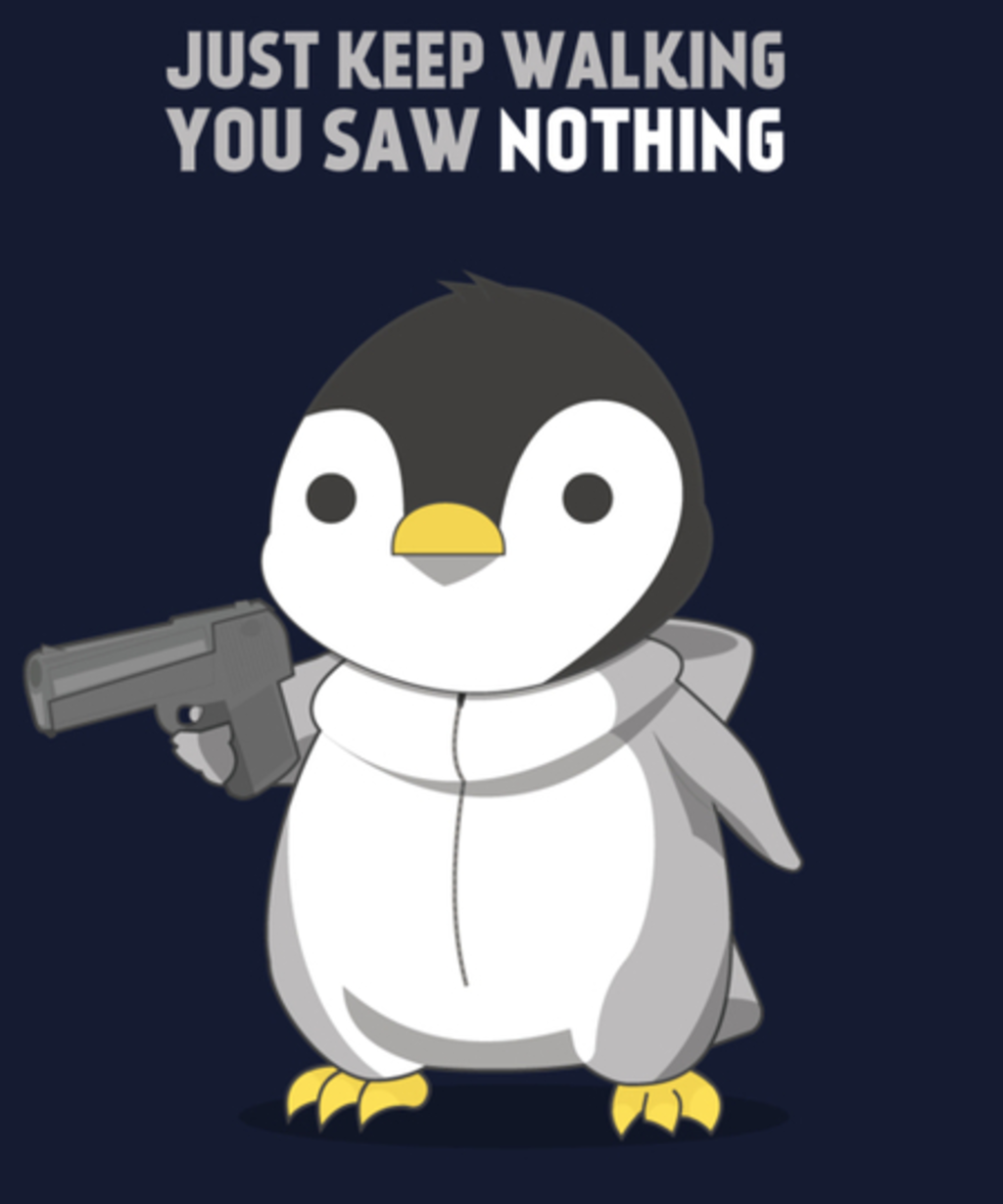 Qwertee: You saw nothing