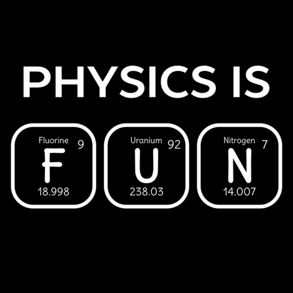 NeatoShop: Physics Is Fun Periodic Table